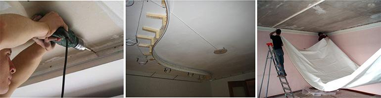 Ремонт первое обои или натяжной потолок